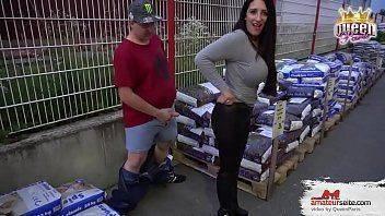 Video amador de sexo na fábrica